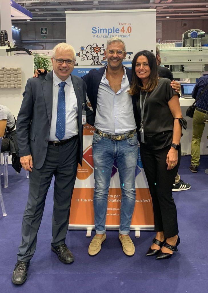 Overlux e Paolo Merli - +130% di fatturato con l'impresa digitale 4.0